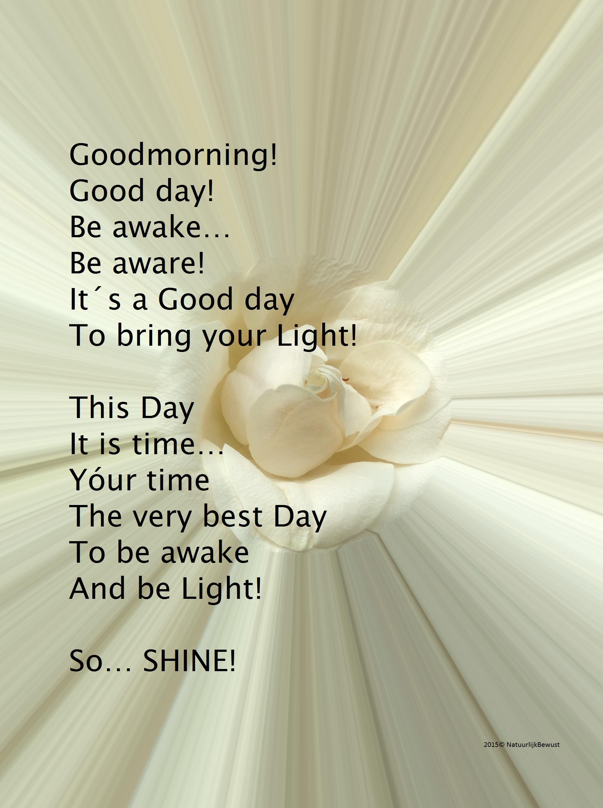 Aspecten van de Ziel - Awake and Shine!